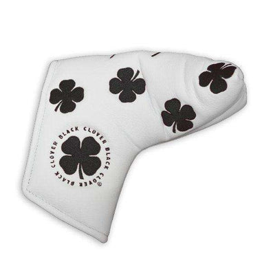 All Over Putter Cover - White/Black