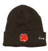 Black Clover University of Utah Beanie back view