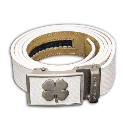 BC Belt: Clover Series - White