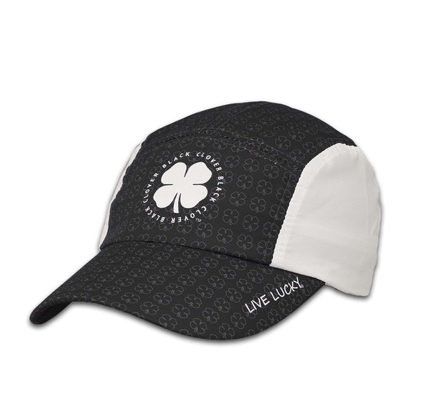 Black Clover Black and White baseball cap front view