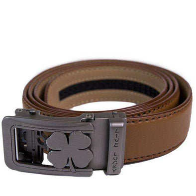 BC Clover Belt: Brown