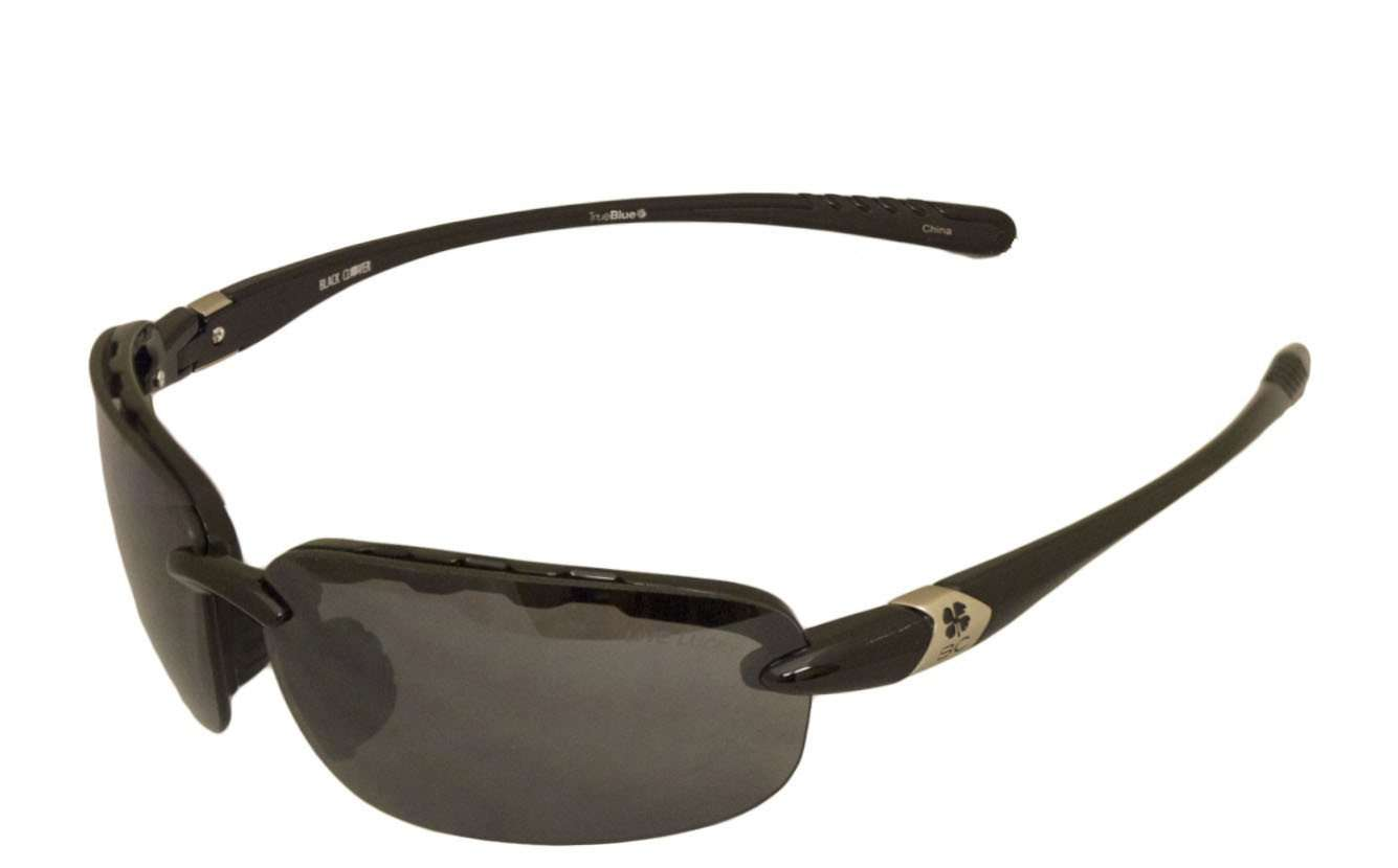 Black Clover Good Luck Sun Glasses Black and Smoke