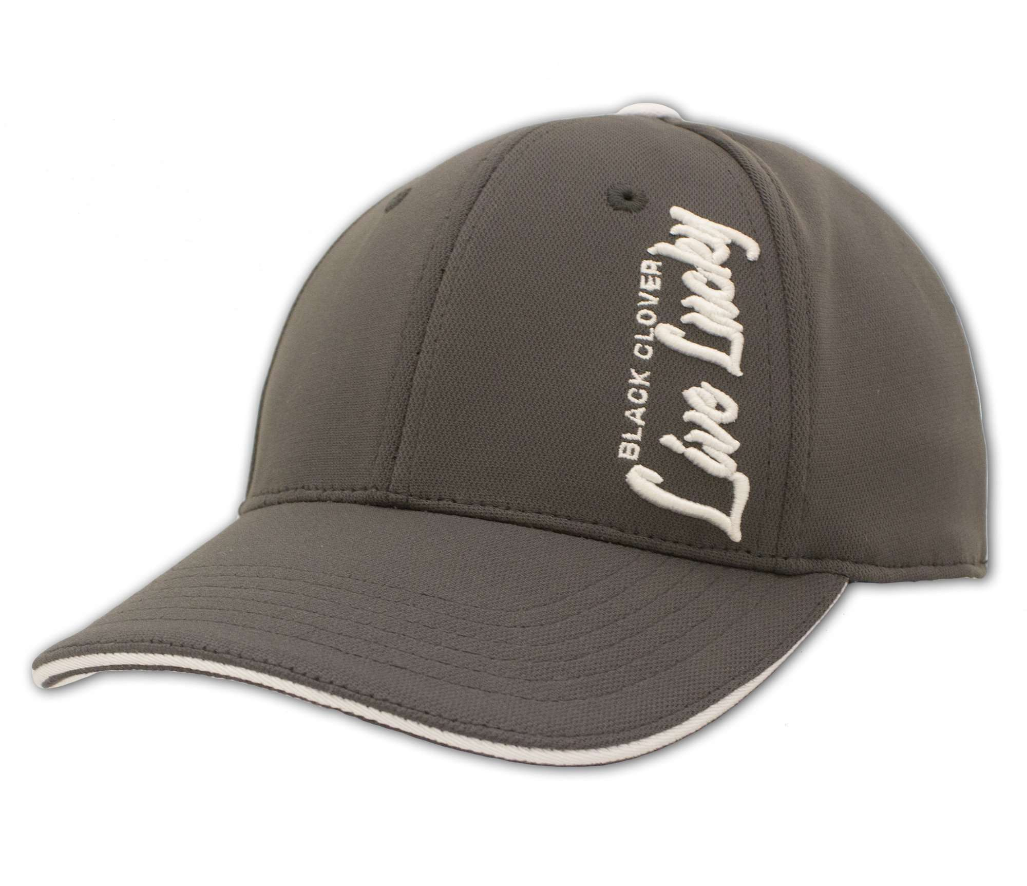 Black Clover Charcoal Baseball Hat