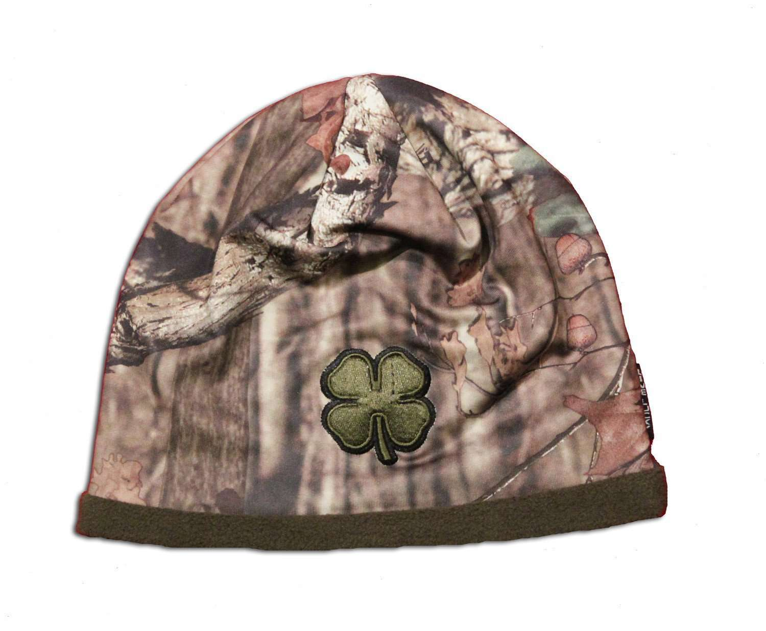 Black Clover Camo beanie front view