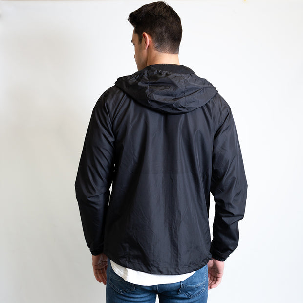 Lucky Windbreaker - Black