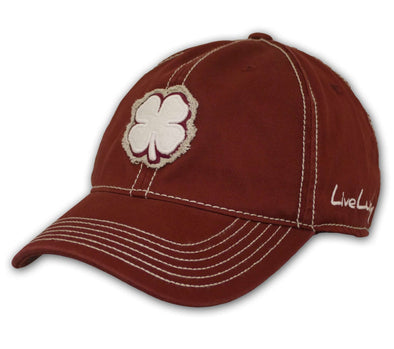 Black Clover Cardinal Color Baseball Cap front view