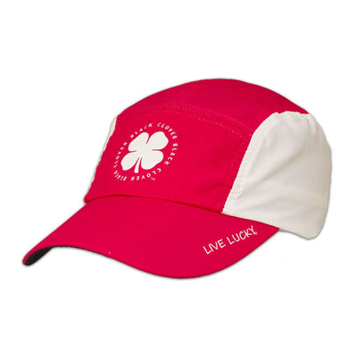 Black Clover Pink Runner Hat side view