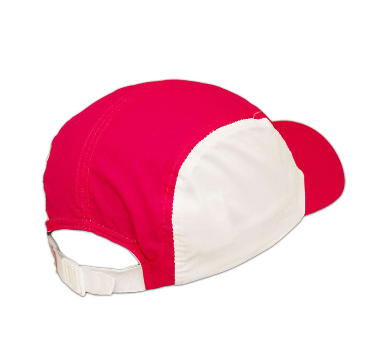 Black Clover Pink Runner Hat back view