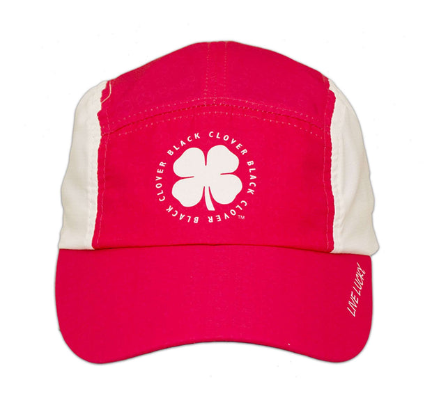 Black Clover Pink Runner Hat front view