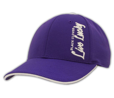 Black Clover Purple Baseball Hat