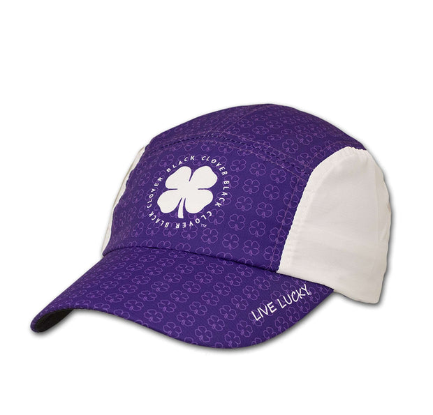 Black Clover Purple Running Cap side view