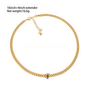 Brooklyn Links Necklace- Demi Fine