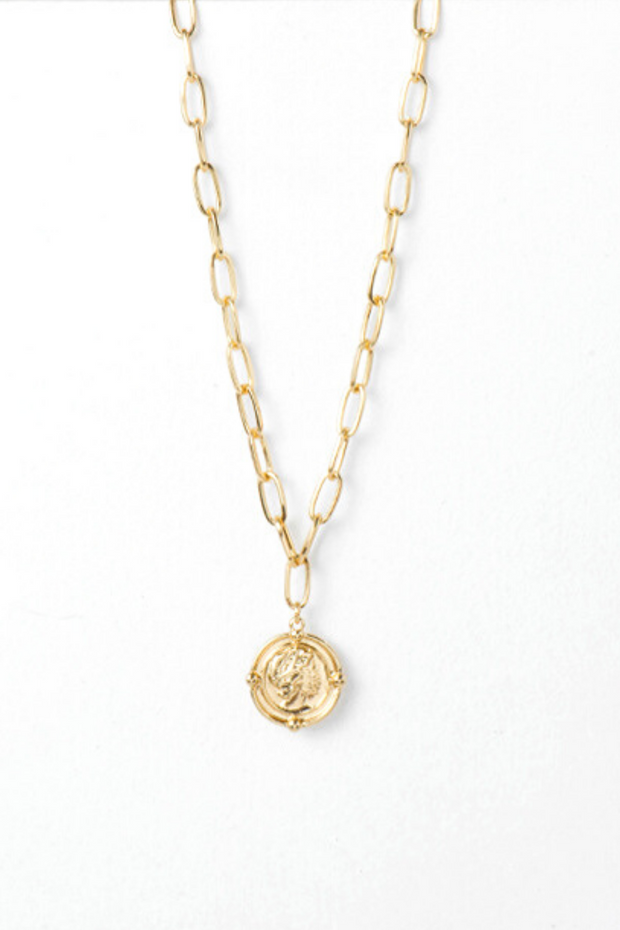 Atlas Coin Pendant- Pre Order for Aug 14th