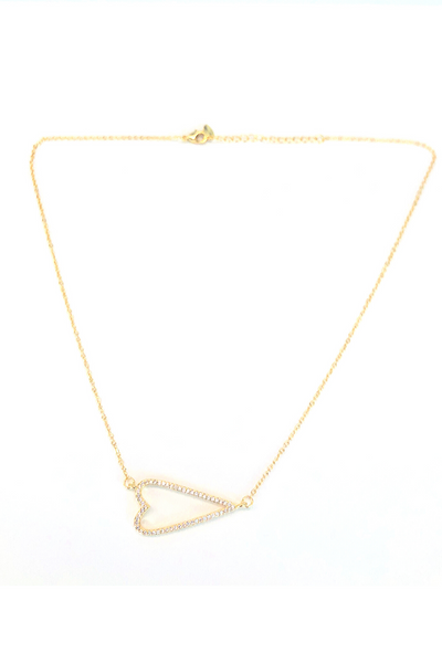 Pave Amour Necklace