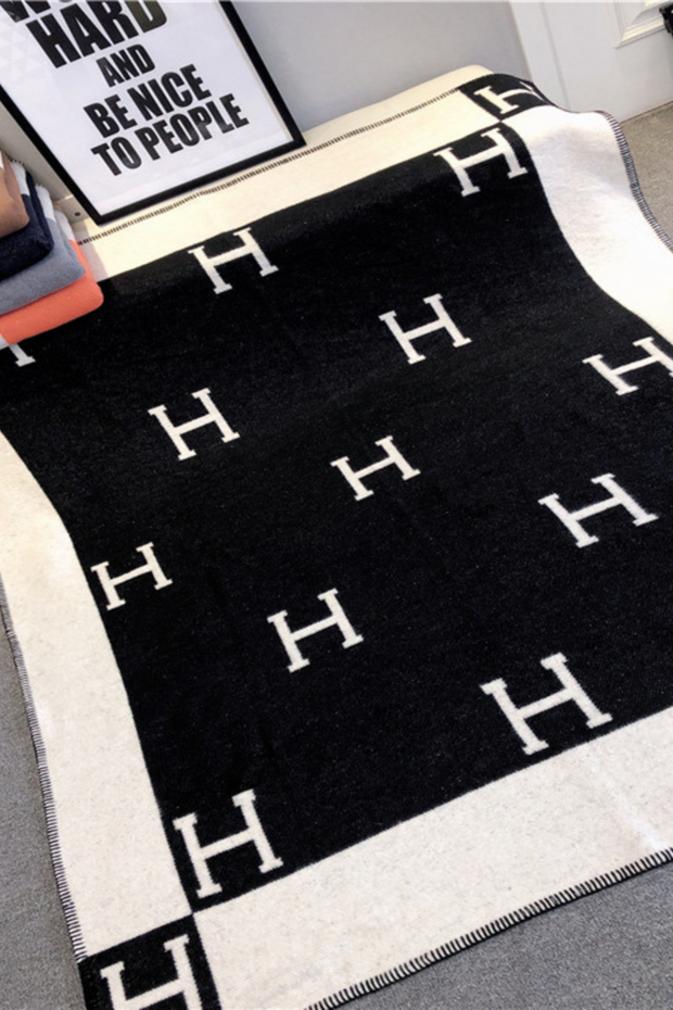 """H"" Blanket- Pre Order Nov. 30th"