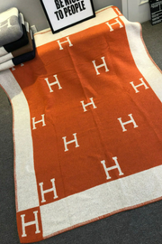 """H"" Blanket- Pre-Order April 30th"