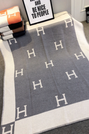 """H"" Blanket- Pre Order Dec. 5th"