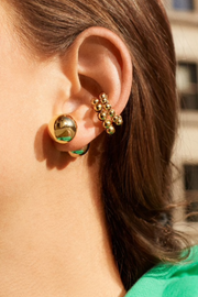 Golden Pisa Ear Cuff