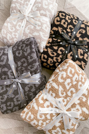The Styled Collection Buttery Leopard Blanket- Pre Order June 3