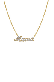 Mama Script Pendant- Demi Fine Pre- Order May 12th