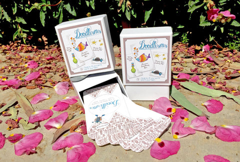 Doodlisms™ 31-Card Deck | A Daily Pick Me Up!