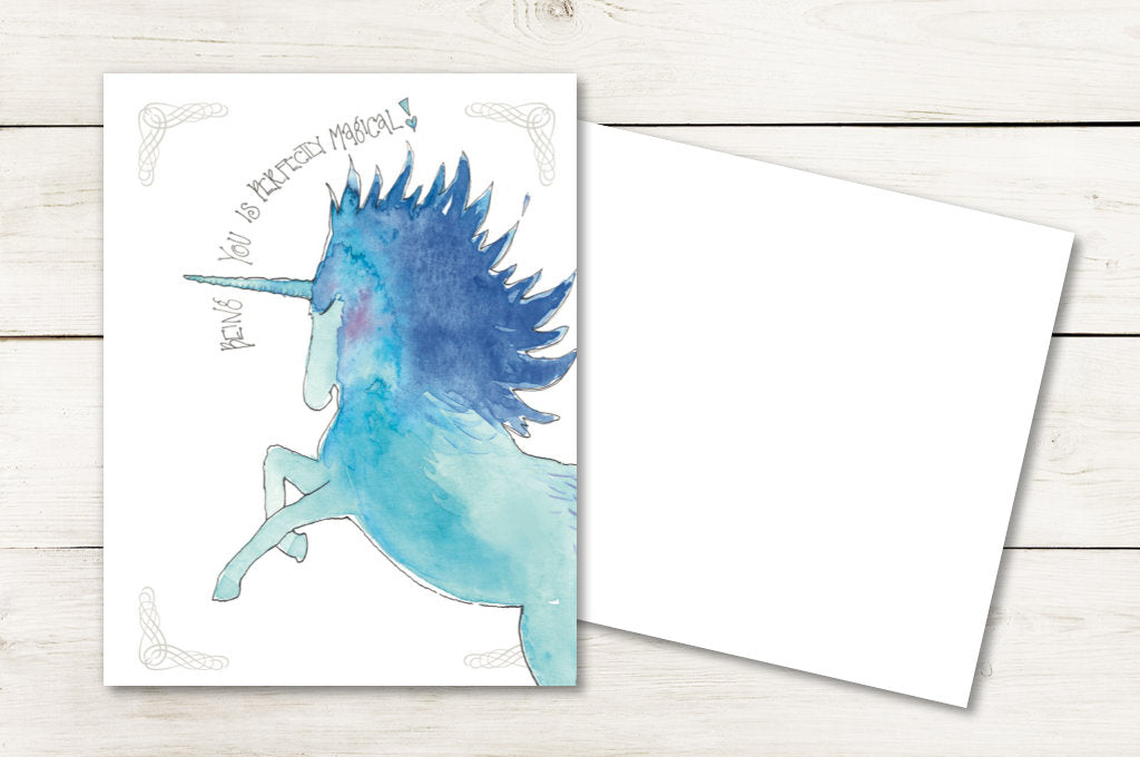 Being You Is Perfectly Magical - Unicorn