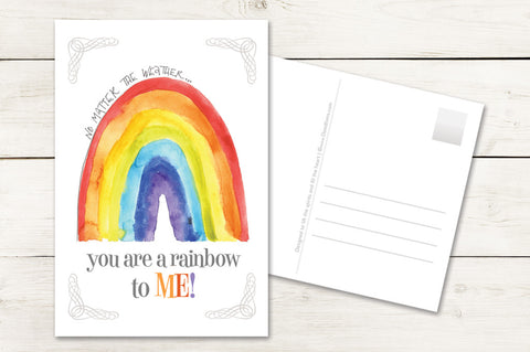 …You Are a Rainbow to Me