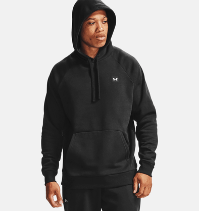 *Tall Sizes* Under Armour Rival Fleece Hoodie - Black - 1357092