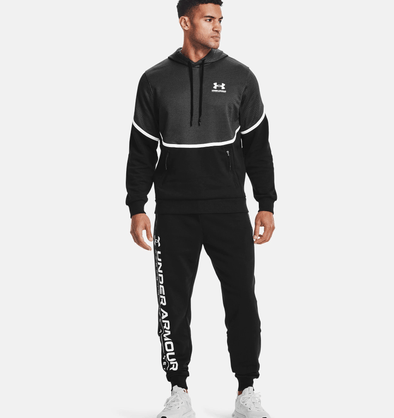 Under Armour Rival Fleece AMP Hoodie - Black - 1357090 001