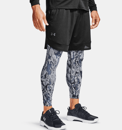 Under Armour Black Training Stretch Shorts - 1356858 001