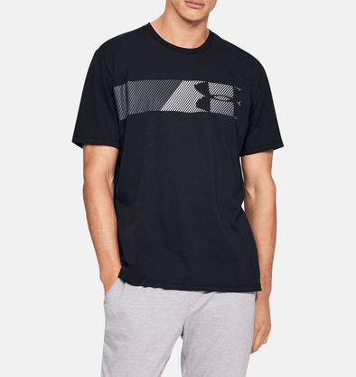 Under Armour Fast Left Chest Tee - Black - 1329584 001