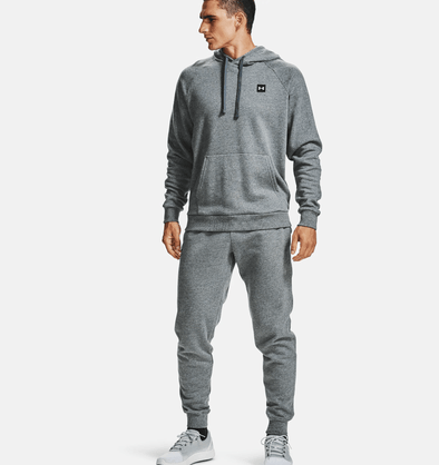 Under Armour Rival Fleece Hoodie - Pitch Grey - 1357092 012