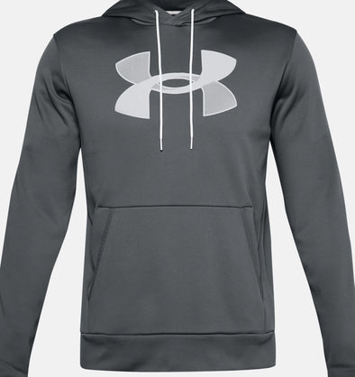 Under Armour BIG Logo Fleece Hoodie - Grey - 13570850 012