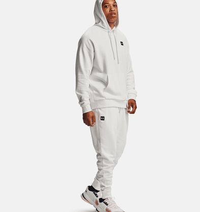 Under Armour Rival Fleece Hoodie - Onyx White - 1357092 112