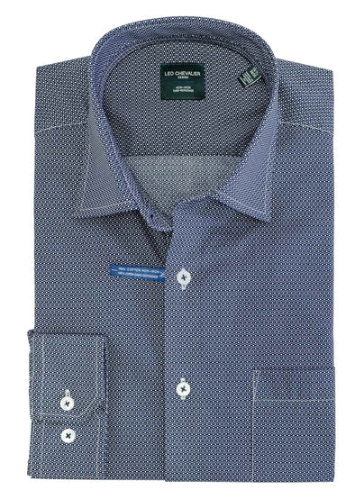 Leo Chevalier L/S Non-Iron Spread Collar Dress Shirt - 525189 1699