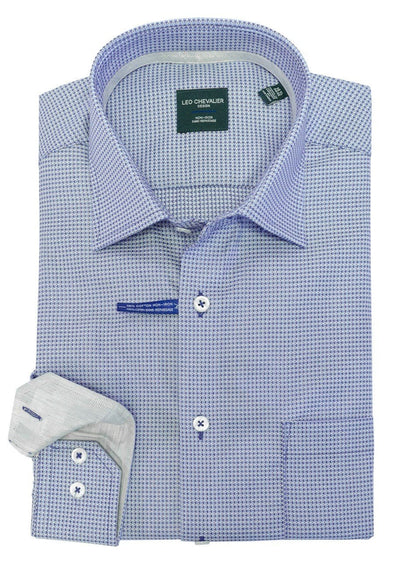 Leo Chevalier 100% Cotton No Iron Spread Collar - 524176 1699