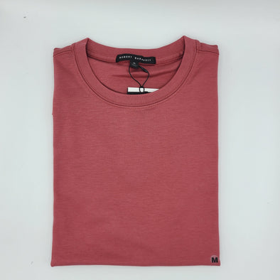 Robert Barakett Crew Neck Tee - Light Rouge - 23336