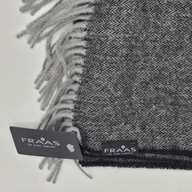Fraas 60/40 Poly/Virgin Wool - Black - 3480050 990