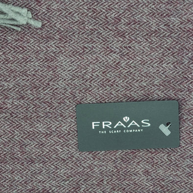 Fraas 60/40 Poly/Virgin Wool - Wine - 3480050 370