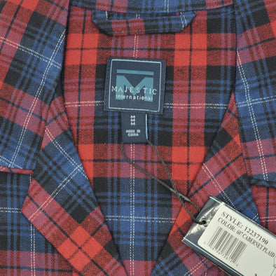 Majestic Family Gathering Flannel Pyjamas - Cabernet Red - 12237190
