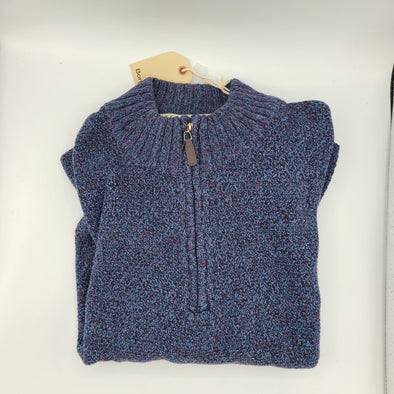 Borgo28 Blue Heather Sweater - BBF9S055