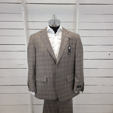 100% Wool Suit - Rockford Cut - 893574 *44S Only*