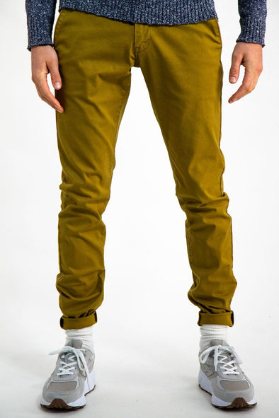 Garcia Chino Yellow Ginger Pants - GS910750 2410