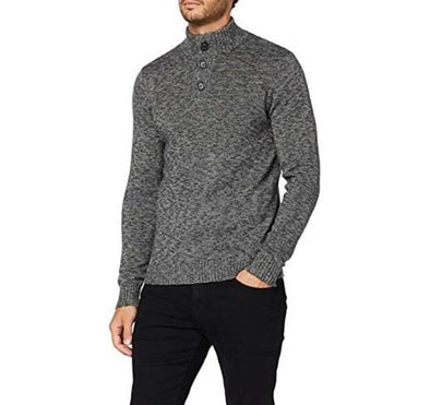 *3XL Only* Garcia Mock Knight Sweater - Rock Melee - I91048 2548