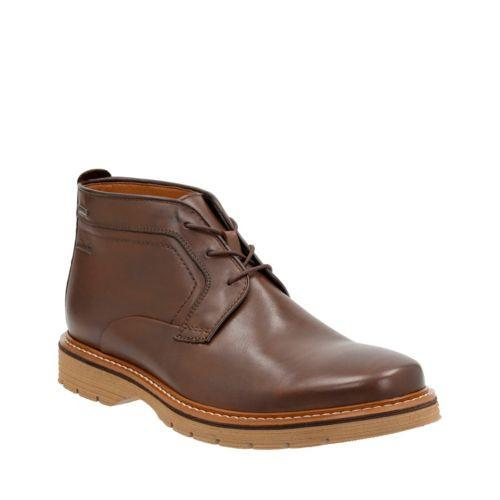 Clarks Newkirk Up GTX Brown
