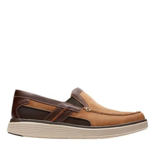 Clarks Un Abode Free Light Tan Leather 26132602