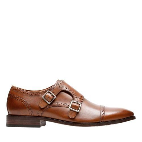 Bostonian Nantasket Monk Tan Leather 26133450