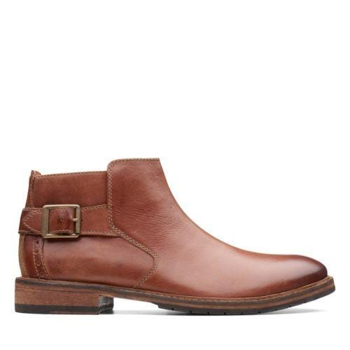 Clarks Clarkdale Remi Dark Tan Leather 26136571