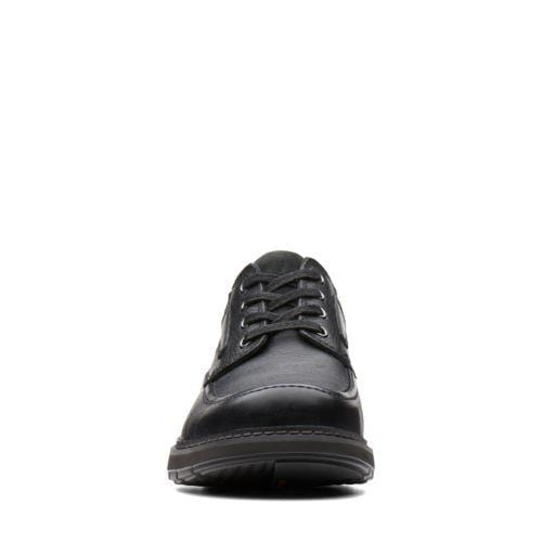 Clarks Un Ramble Black Tumbled Leather | 26136989