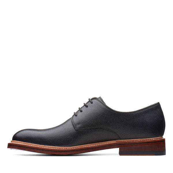 Bostonian Somerville Low 37102 Black Tumbled Leather